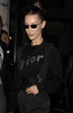Bella Hadid Outside a Christian Dior party in London