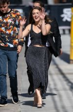 Billie Lourd Arrives in Hollywood for an appearance on
