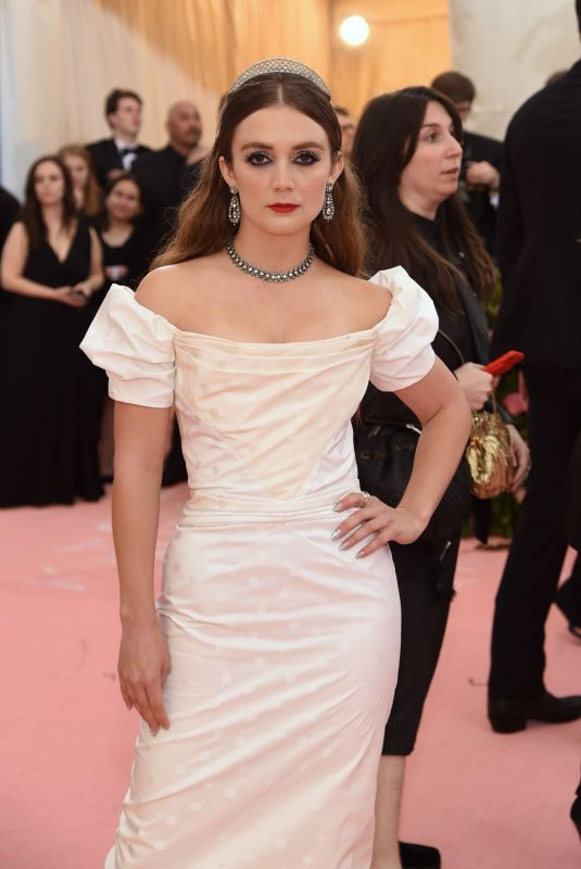 Billie Lourd At The 2019 Met Gala Celebrating Camp: Notes on Fashion at Metropolitan Museum of Art in New York City