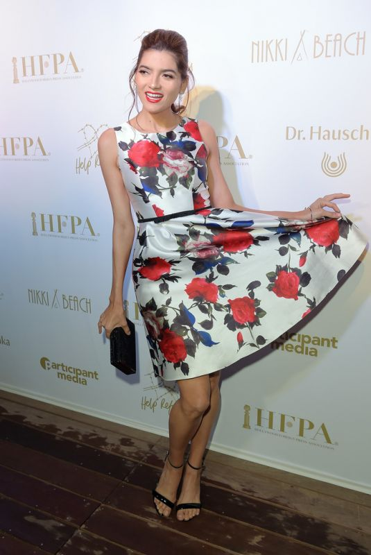 Blanca Blanco At HFPA & Participant Media Honour Help Refugees during 72nd Cannes Film Festival