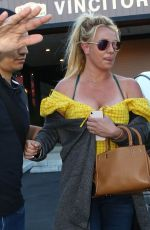 Britney Spears Out about in Agoura Hills, California on Memorial Day evening