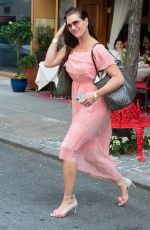 Brooke Shields At Nello restaurant in NYC