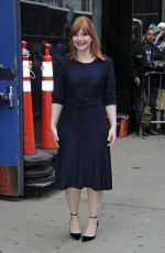 Bryce Dallas Howard Arriving at Good Morning America in New York City