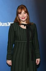 Bryce Dallas Howard At SiriusXM Studios in New York City