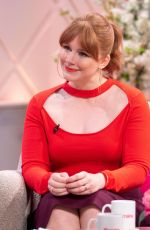 Bryce Dallas Howard At The Lorraine TV Show in London