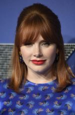 Bryce Dallas Howard At U.S. Premiere of