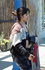 Camila Cabello Leaves the gym after a workout in LA