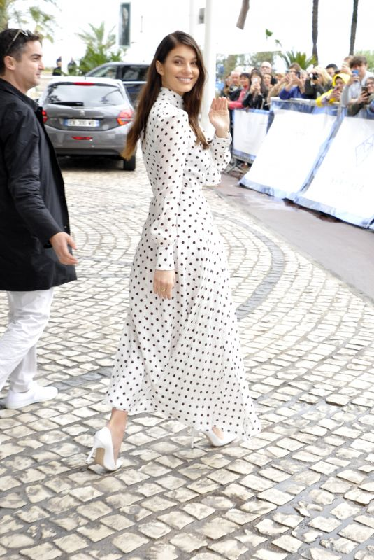 Camila Morrone Sighted outside Hotel Martinez in Cannes