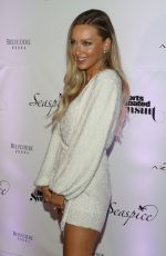 Camille Kostek At Sports Illustrated Swimsuit 2019 Issue Launch in Miami