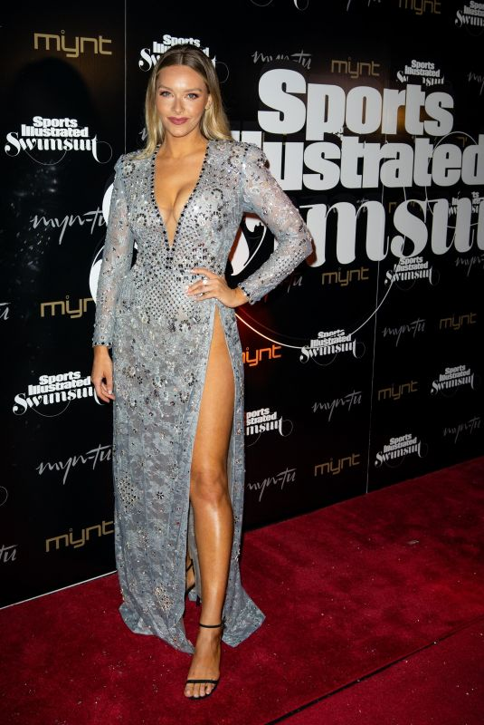 Camille Kostek At Sports Illustrated Swimsuit issue launch celebration, Miami