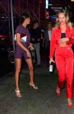Candice Swanepoel & Joan Smalls Going to harry josh
