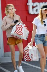 Cara Delevingne and Ashley Benson Out in Los Angeles
