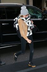 Cara Delevingne & Ashley Benson Arriving at The Mark Hotel in NYC