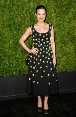 Carla Gugino At 14th Annual Tribeca Film Festival Artists Dinner hosted by Chanel in NYC