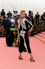 Caroline Trentini At The 2019 Met Gala Celebrating Camp: Notes on Fashion at Metropolitan Museum of Art in New York City