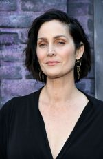 Carrie-Anne Moss At Premiere of Netflix