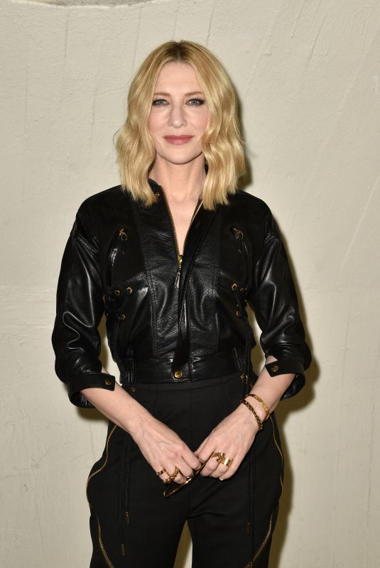 Cate Blanchett At Louis Vuitton Cruise 2020 Fashion Show at JFK Airport in New York City