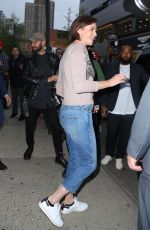 Charlize Theron Leaves The Daily Show in New York