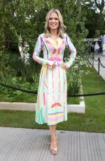 Charlotte Hawkins At RHS Chelsea Flower Show in London
