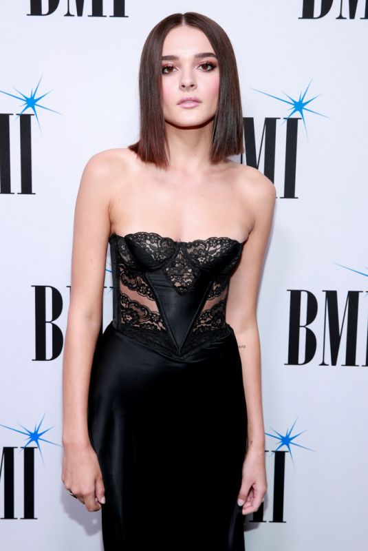 Charlotte Lawrence At 67th Annual BMI Pop Awards in Beverly Hills