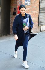 Chloë Grace Moretz Leaving the gym in NYC