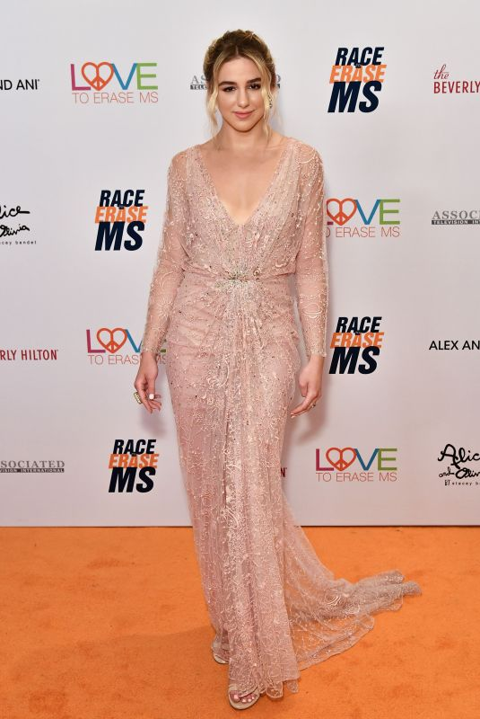 Chloe Lukasiak At 26th Annual Race to Erase MS Gala in Beverly Hills