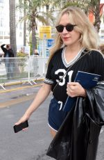Chloe Sevigny Outside in Cannes