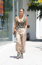 Christina Milian Goes on a shopping spree in Los Angeles