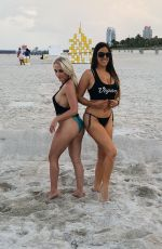 Claudia Romani and Jess Picado are a booty-full duo as they pise for iApparel