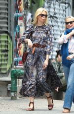 Claudia Schiffer Steps out in NYC