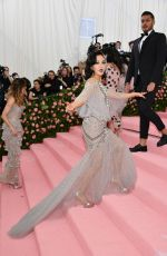 Constance Wu At The 2019 Met Gala Celebrating Camp: Notes on Fashion at Metropolitan Museum of Art in New York City