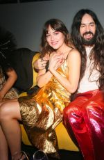 Dakota Johnson At Gucci Met Gala After Party at Hunter College in NYC