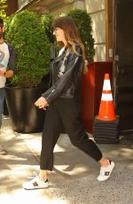 Dakota Johnson Leaving her hotel in New York