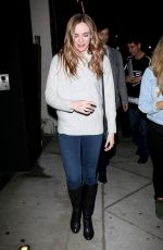 Danielle Panabaker Spotted leaving Craig
