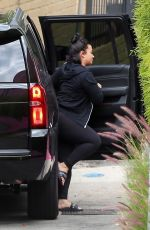 Demi Lovato Going to a gym in Los Angeles