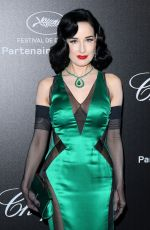 Dita Von Teese At chopard party at 2019 cannes film festival