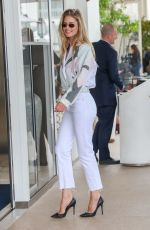 Doutzen Kroes At the Martinez hotel during the 72nd annual Cannes Film Festival in Cannes