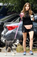 Elizabeth Olsen Out for a hike in the Hollywood Hills