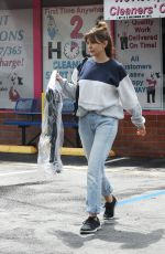 Elizabeth Olsen Out in LA