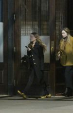 Elizabeth Olsen Out with Mary-Kate in NYC