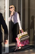 Elle Fanning Arriving at the Martinez Hotel in Cannes