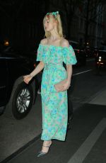 Elle Fanning Heading to the Prada event in NYC