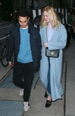 Elle Fanning Is out in NYC