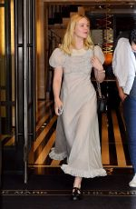 Elle Fanning Out and about in New York City