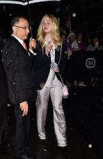 Elle Fanning Outside the Mark hotel in NYC