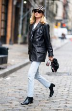 Elsa Hosk Out in SoHo