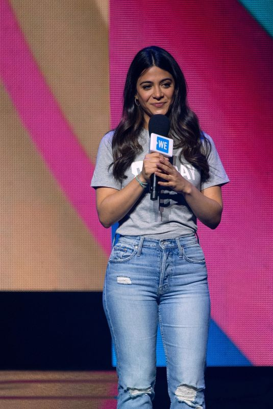 Emeraude Toubia At WE Day Illinois event in Chicago