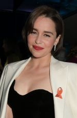 Emilia Clarke At SMS Battles Quiz for The MS Society in London