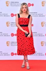 Emily Atack At Virgin Media British Academy Television Awards 2019 in London