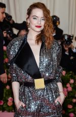 Emma Stone At 2019 Met Gala in NYC